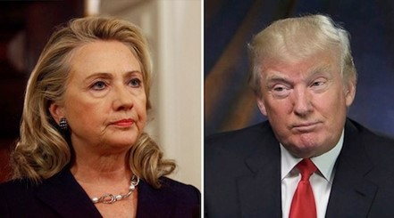 Image result for trump pointing at hillary