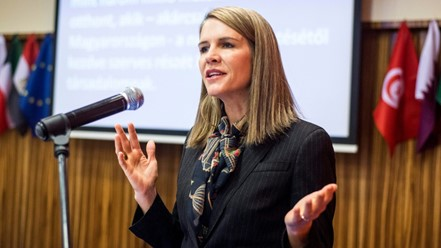 US Ambassador to Hungary, Coleen Bell